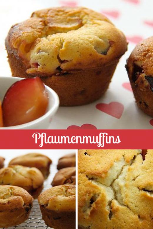 Pflaumenmuffins