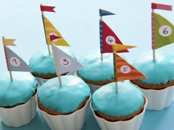 Segelboot Muffins Meine Svenja