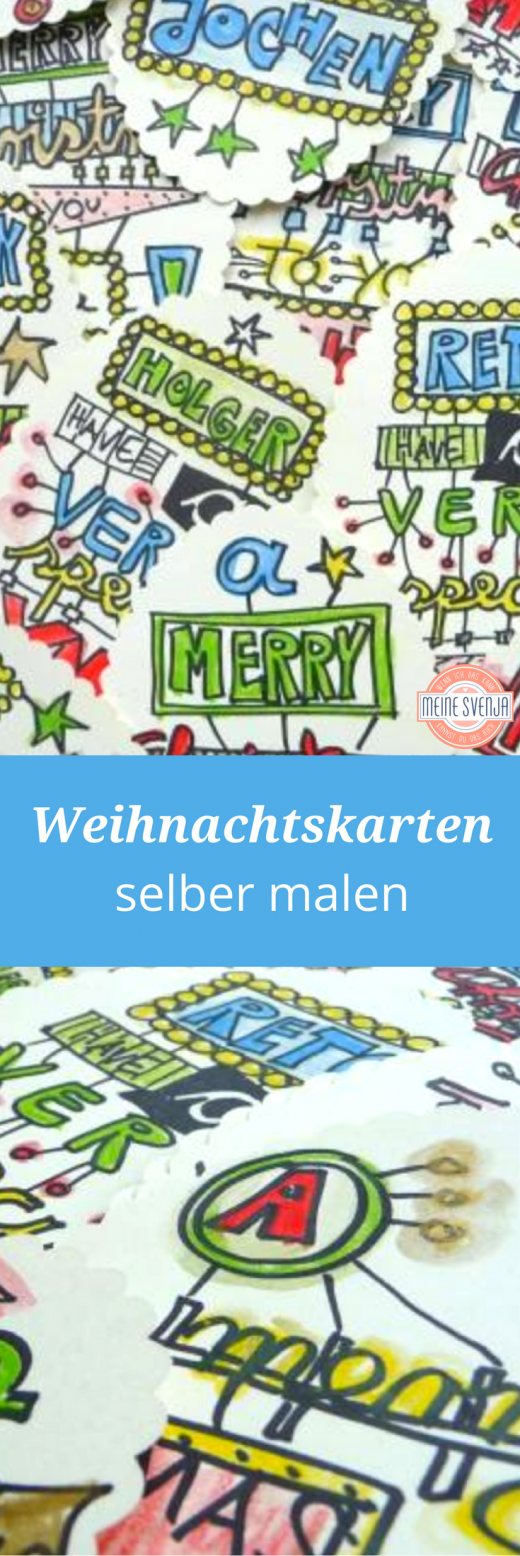 weihnachtskarten_selber_malen-pinterest
