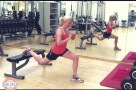 Mein Standard Workout Svenja Walter beim Training Video www.meinesvenja.de
