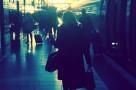 Die Frau im Zug Svenja Walter www.meinesvenja.de