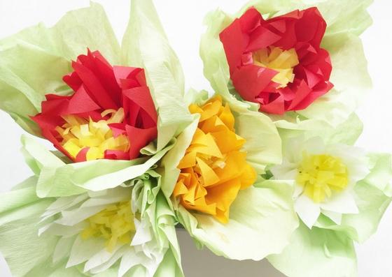 Blumen Basteln Zur Frühlingsdeko Meine Svenja