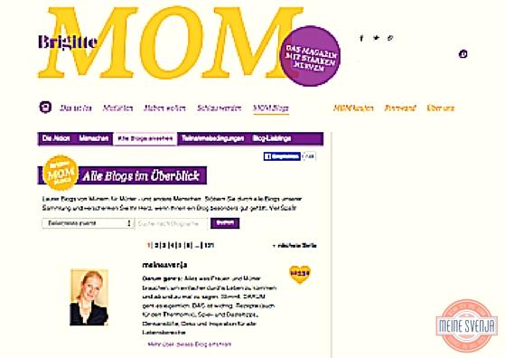 bye bye brigitte mom blogs www.meinesvenja.de