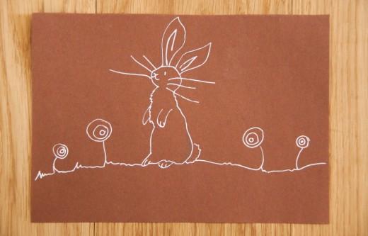 Osterkarten basteln - Wenn ihr mehr Ideen sucht, was man zu Ostern basteln kann oder Sachen rund ums Fest (Ostern Tischdeko, Ostern Rezepte) oder einfach die DIY zur Osterkarte sehen wollt - gibt es alles auf https://www.meinesvenja.de/wp/2014/04/09/osterkarten-basteln/ Happy Easter!