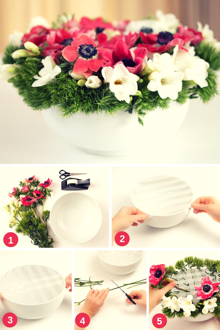 Tischdekoration Mit Blumen Meine Svenja