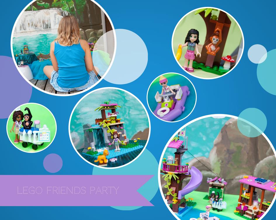 Lego Friends Einladung