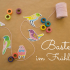 Basteln Frühling: mit Kordel, Masking Tape und dem bird template zum kostenlosen Download jede Menge Frühlingsdeko basteln.