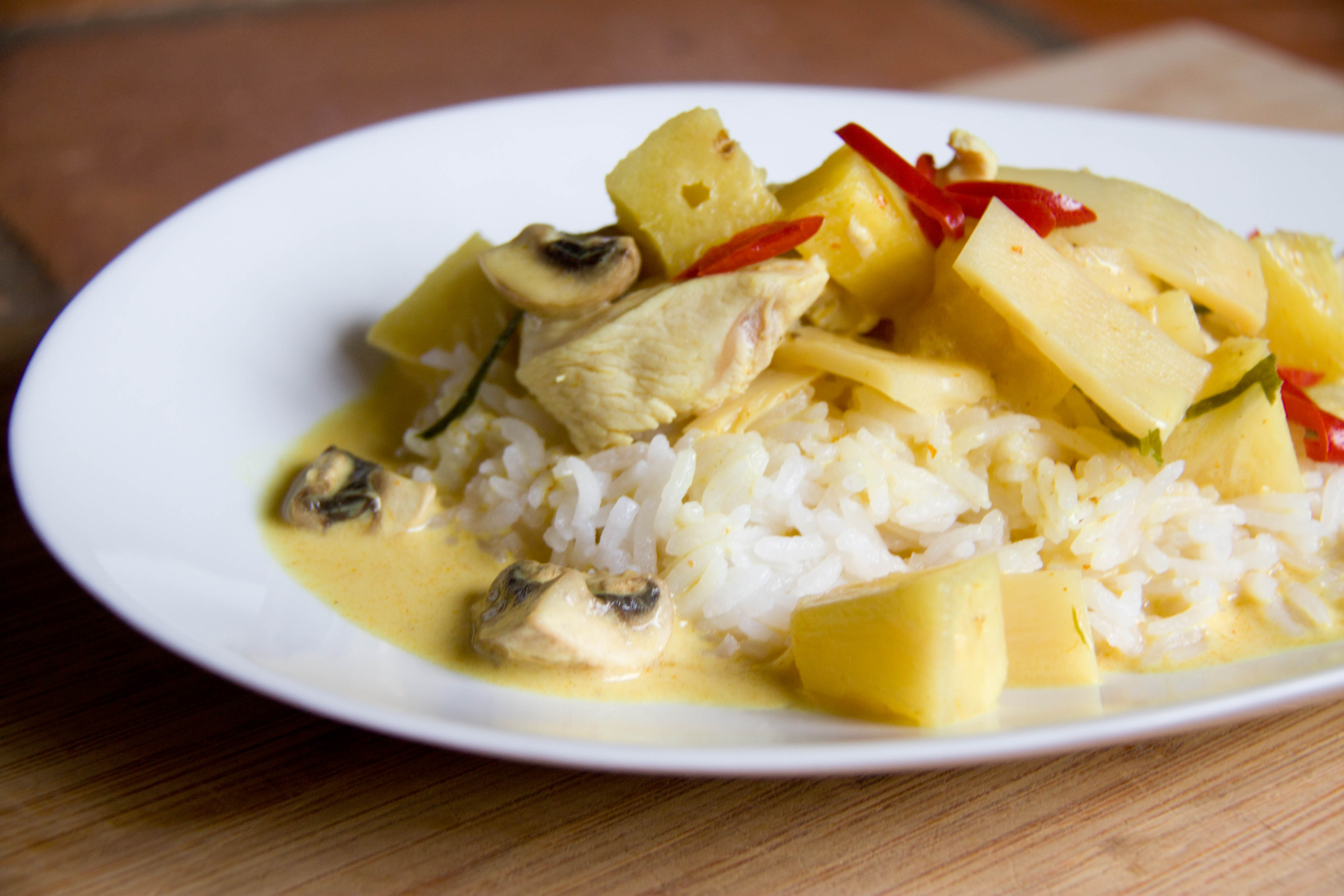 Curry Rezept wie im Thai-Restaurant | Meine Svenja