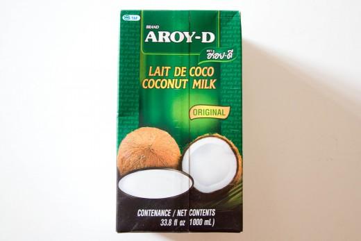 Curry Rezept wie aus dem Thai Restaurant von www.meinesvenja.de - das ist die beste Kokosmilch. die alle Thailänder verwenden.