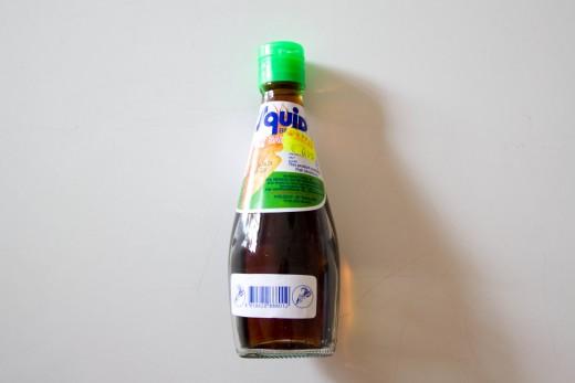 Curry Rezept wie aus dem Thai Restaurant von www.meinesvenja.de - Fischsauce kann man eigentlich von jeder Marke nehmen - nur darauf achten, dass die Flasche aus Plastik ist.