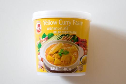 Curry Rezept wie aus dem Thai Restaurant von www.meinesvenja.de - das ist die beste Currypaste, die ihr im Asialaden kaufen könnt.