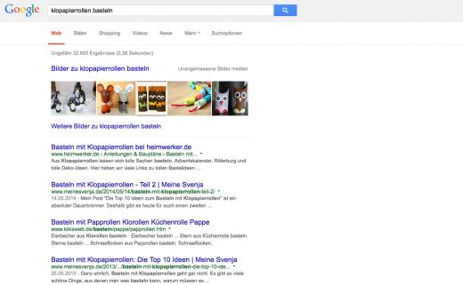 Wenn man weiß, wie man Texte Suchmaschinenoptimiert, kann man mit einem Thema durchaus zweimal auf Google Seite 1 kommen.