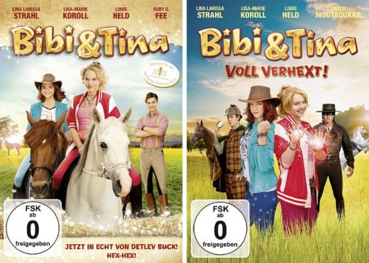 Die besten Mädchen Filme - Bibi und Tina - der Hörspielklassiker als Kinofilm. Teil 1 und Teil 2.