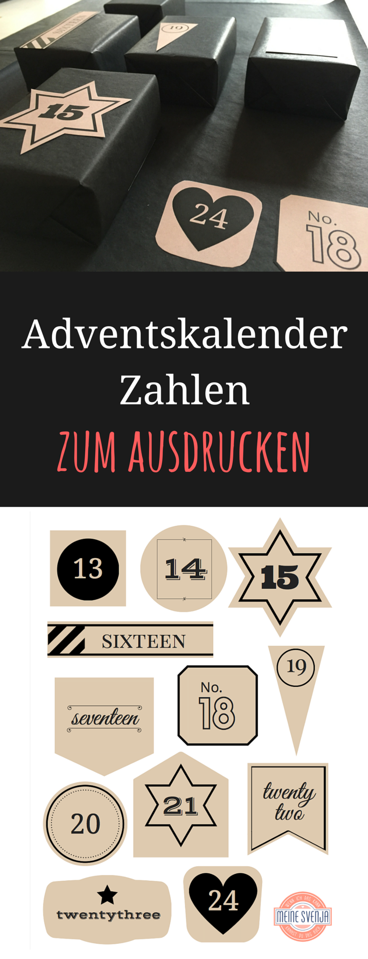 adventskalender zahlen zum ausdrucken meine svenja. Black Bedroom Furniture Sets. Home Design Ideas