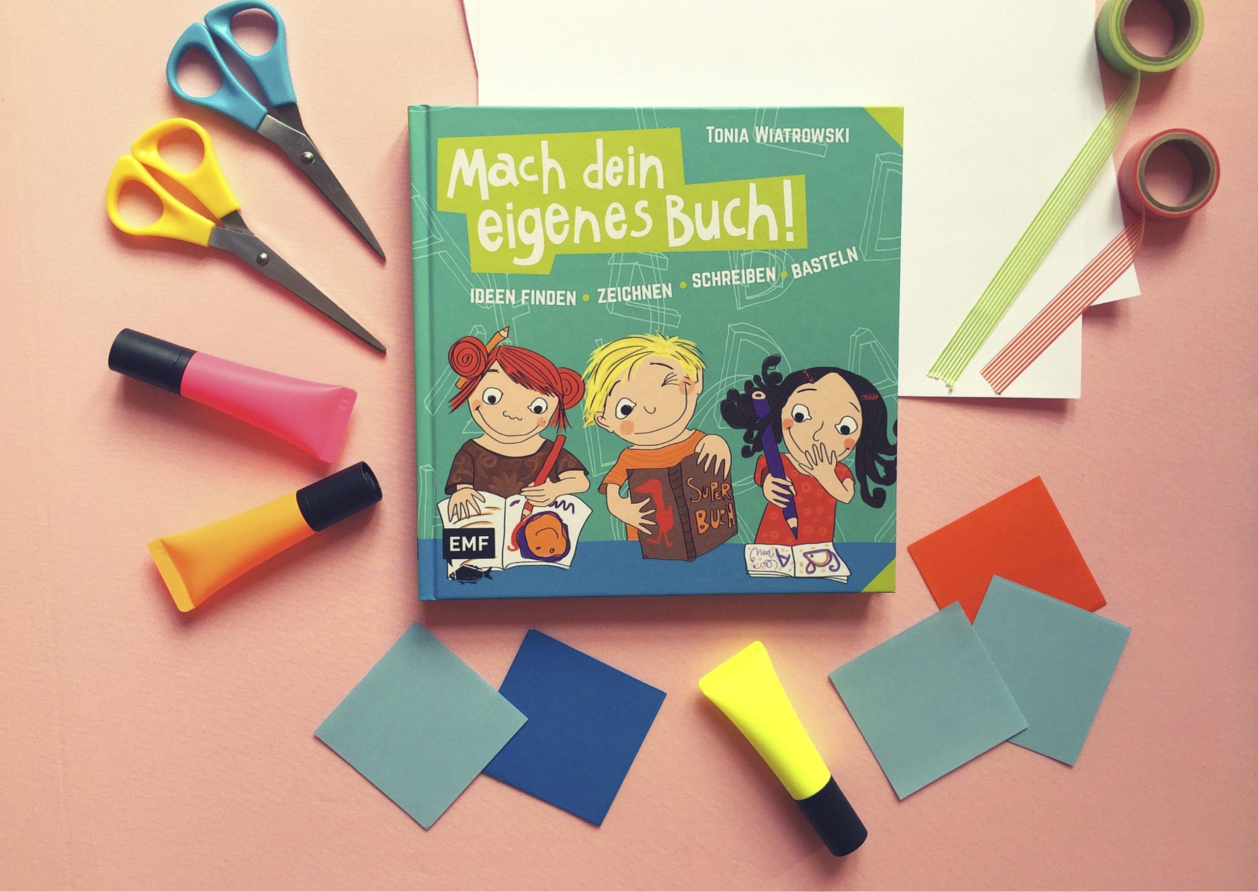 Bücher selber machen ganz leicht https://www.meinesvenja.de/wp/