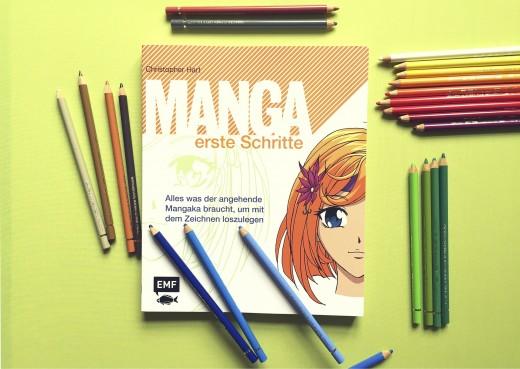"""""""Manga erste Schritte"""" von Edition Michael Fischer - auf Pinterest unter https://www.pinterest.com/EMF_Verlag/"""