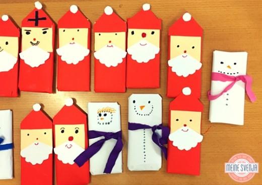 Adventsbasteln_Idee-Schokoladentafeln-als-Weihnachtsmann-verpackt