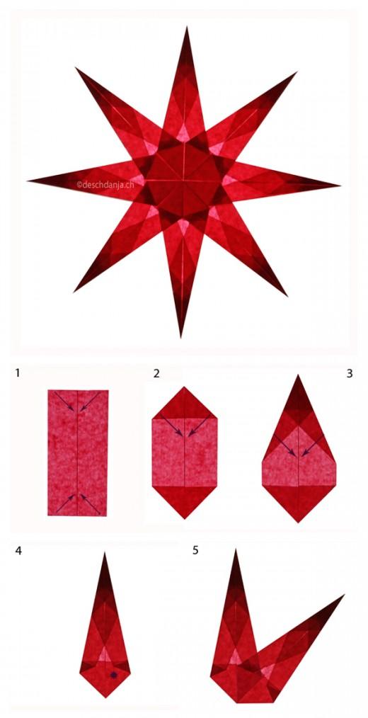 Sterne_falten-Anleitung_Weihnachtssterne-in-rot