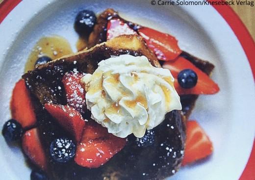 Amerikanische Rezepte French Toast Buch Carrie's Kitchen Knesebeck Verlag www.meinesvenja.de