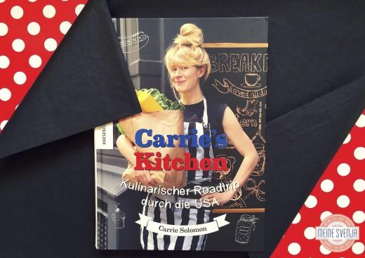 Amerikanische Rezepte Buch Cover 2 Carrie's Kitchen von Carrie Solomon Knesebeck Verlag www.meinesvenja.de