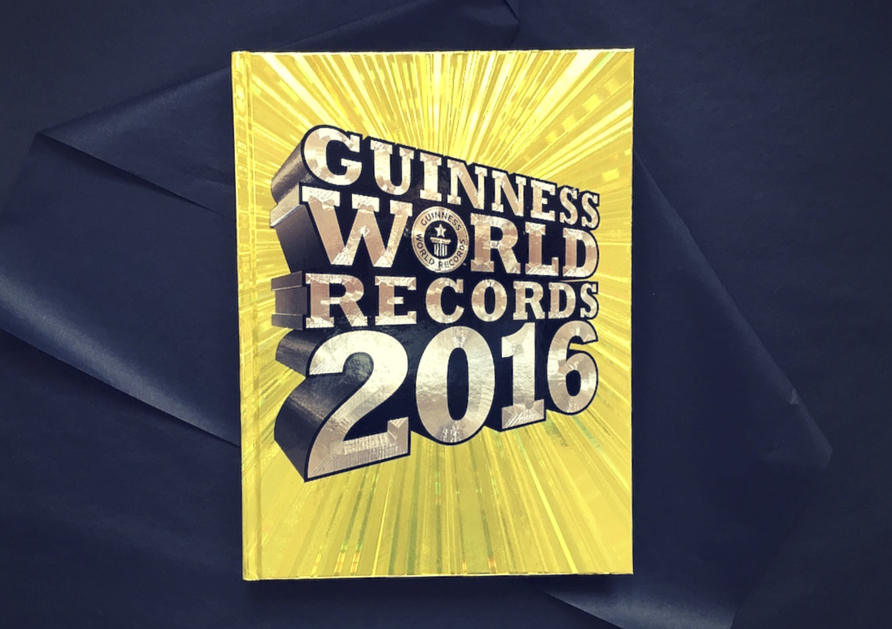 Das Guinness Bucher der Rekorde Cover mit Logo www.meinesvenja.de