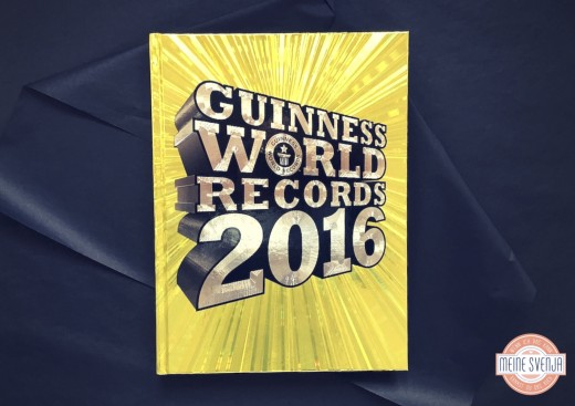 Das Guinness Bucher der Rekorde Cover mit Logo www.meinesvenja.de