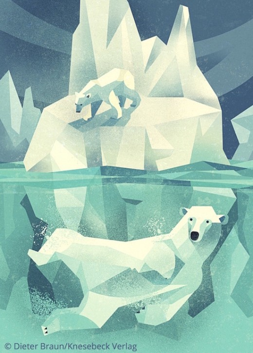 Die Welt der wilden Tiere - im Norden - Eisbär Knesebeck Verlag www.meinesvenja.de
