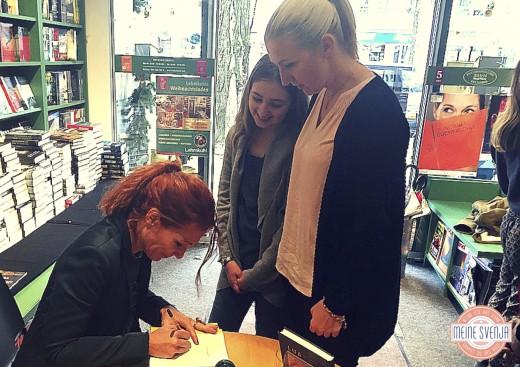 Lua und die Zaubermurmel Lesung München mixtvision verlag Autogramm Alexandra Helmig www.meinesvenja.de