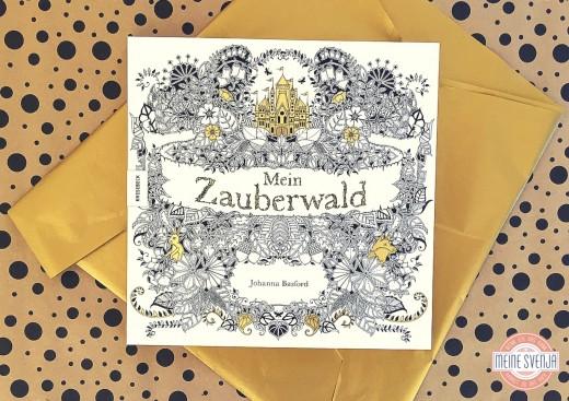 Motive zum ausmalen Buch: Mein Zauberwald von Johanna Basford Knesebeck Verlag Cover www.meinesvenja.de