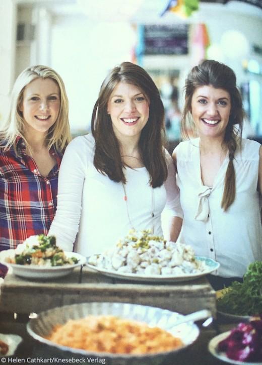 Rezepte für jeden Tag Buch Cafe Schwesterherz Knesebeck Verlag Gillian, Nichola und Linsey Reith in der Küche www.meinesvenja.de