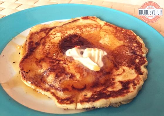 Amerikanische Pancakes Unser Adventsfrühstückshit Meine Svenja