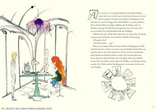 Mademoiselle Oiseau und die geheimnisvollen Briefe Buch Verlag Kleine Gestalten www.meinesvenja.de