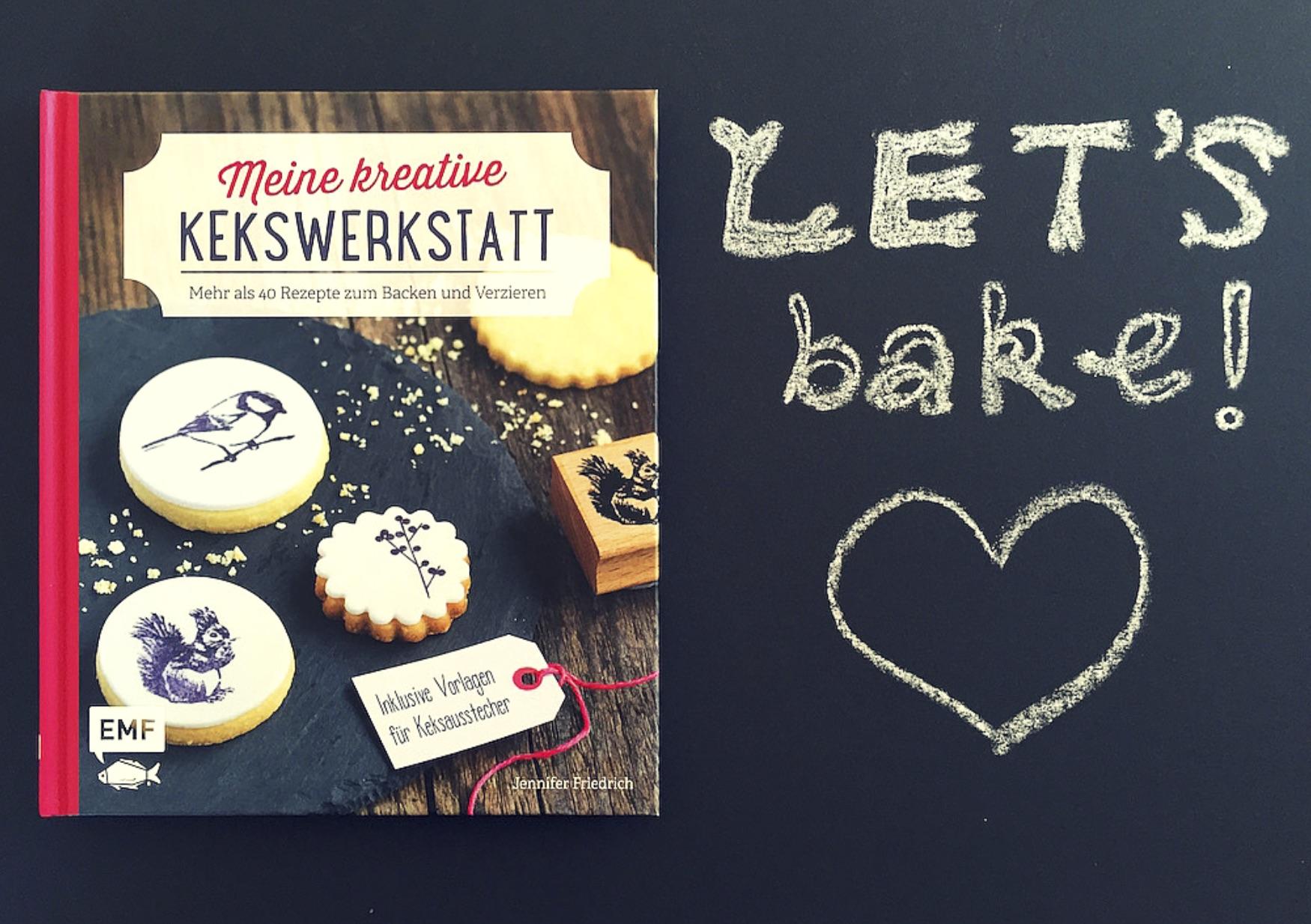 Meine kreative Kekswerkstatt Buch EMF Verlag www.meinesvenja.de