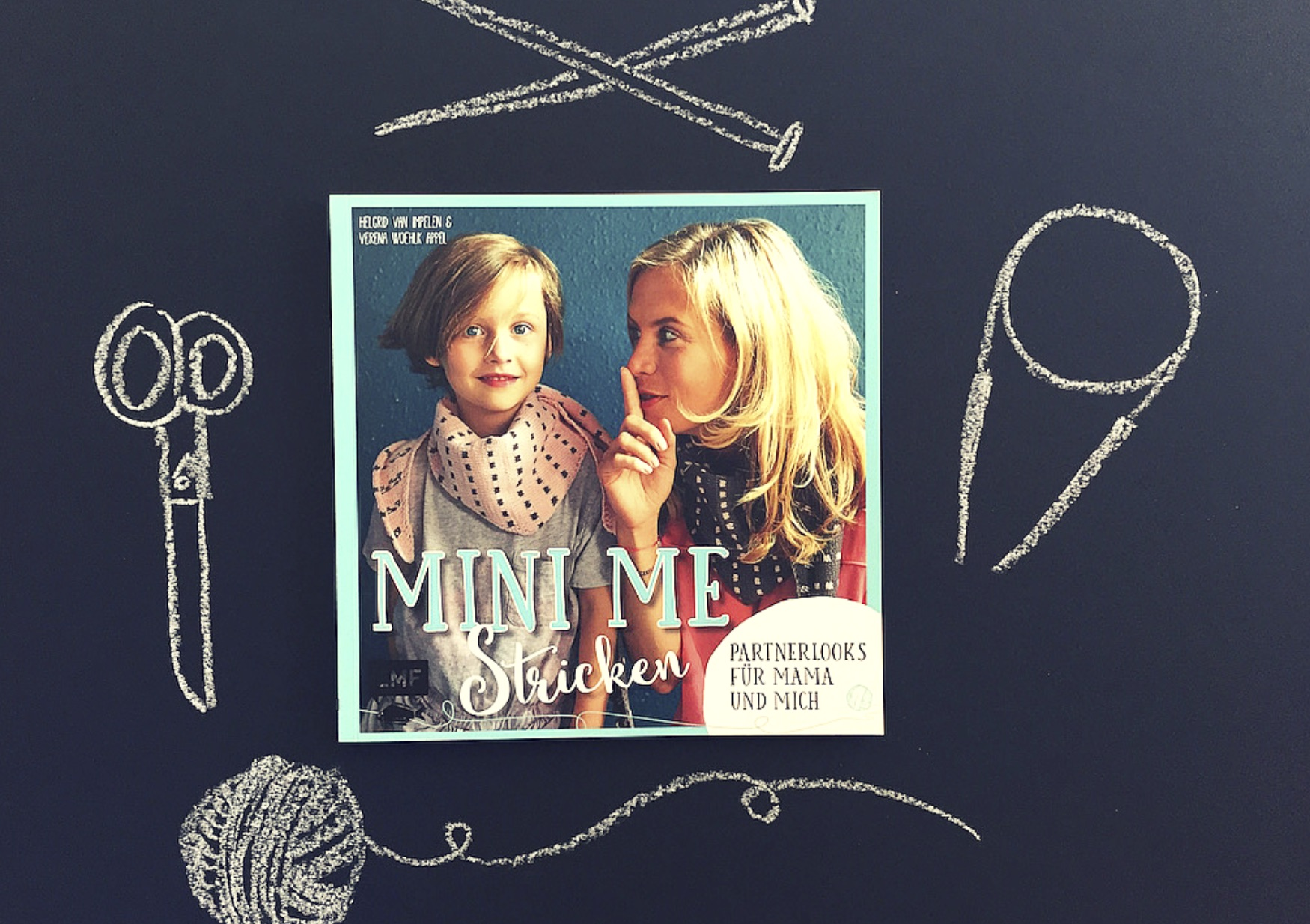 Mini me Stricken Buch EMF Verlag www.meinesvenja.de