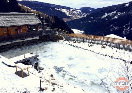 Almdorf Seinerzeit Kärnten Aussicht Talblick und Berge www.meinesvenja.de
