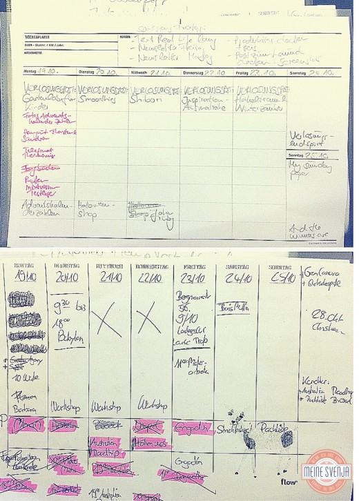 Redaktionsplan wie erstelle ich einen Redaktionsplan video tutorial www.meinesvenja.de