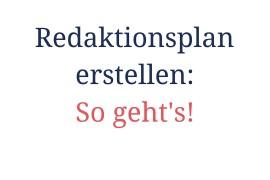 Redaktionsplan wie erstelle ich einen Redaktionsplan video tutorial Serienplaner www.meinesvenja.de