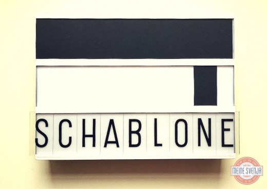 Lightbox DIY Schablone www.meinesvenja.de