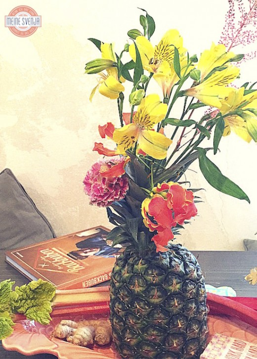 Rice DK Produkte Party Vase aus Ananas www.meinesvenja.de