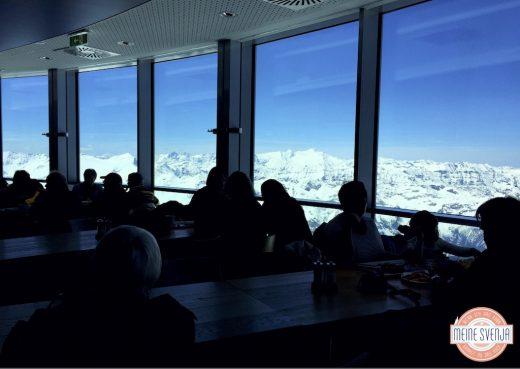 Familienurlaub Österreich Familotel Amiamo 3029 Meter Aussicht Restaurant Kitzsteinhorn www.meinesvenja.de