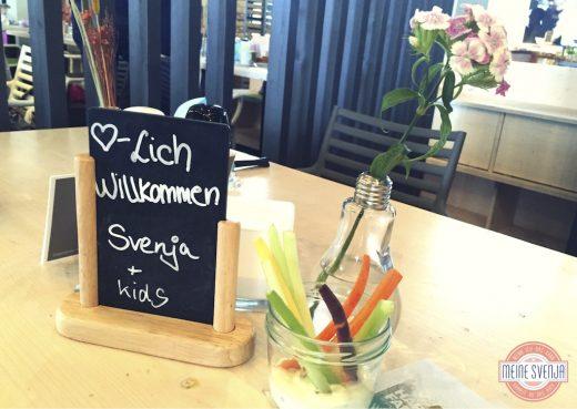 Brunchen in München Stromberg Willkommen Schild www.meinesvenja.de