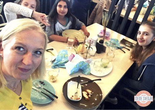 Brunchen in München bei Stromberg Family and Friends Selfie Svenja Walter www.meinesvenja.de