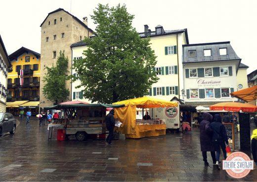 Familienurlaub Österreich Familotel amiamo Marktplatz Regenwetter www.meinesvenja.de