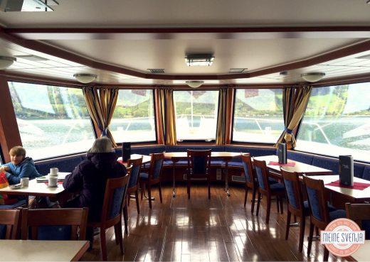 Familienurlaub Österreich Familotel Amiamo Bootsfahr Restaurant Aussicht www.meinesvenja.de