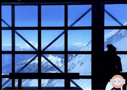 Familienurlaub Österreich Familotel Amiamo Aussicht Gondel Kitzsteinhorn Gletscher www.meinesvenja.de
