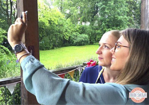 Mein RTL Dreh Selfie Svenja Walter & Moderatorin Lotte Lang www.meinesvenja.de