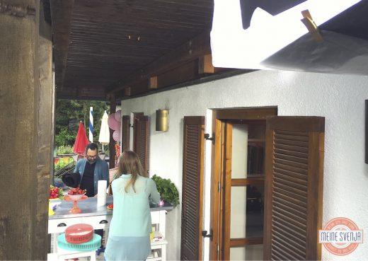 Mein RTL Dreh Vorbereitung Requisiten Terrasse www.meinesvenja.de