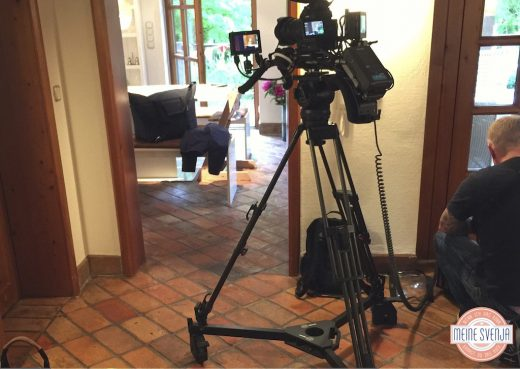 Mein RTL Dreh Kameramann Vorbereitung Dreh Innen Tag www.meinesvenja.de