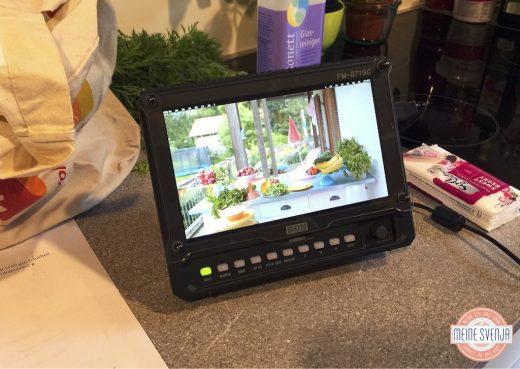 Mein RLT Dreh Monitor Küche www.meinesvenja.de