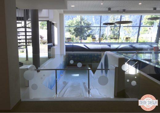 Wasserrutschen im Familienhotel Sonnwies in Südtirol